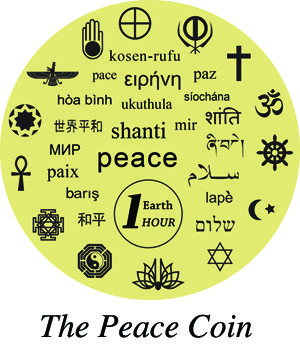 1 HOUR Peace Coin