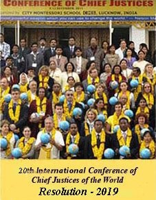 20th International Conference of Chief Justices of the World